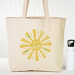 You Are My Sunshine Canvas Tote