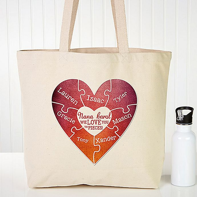 Alternate image 1 for We Love You To Pieces Tote Bag