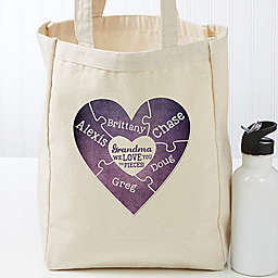 We Love You To Pieces Petite Tote Bag