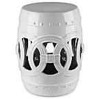 Abbyson Living® Talia 17-Inch Ceramic Garden Stool in White