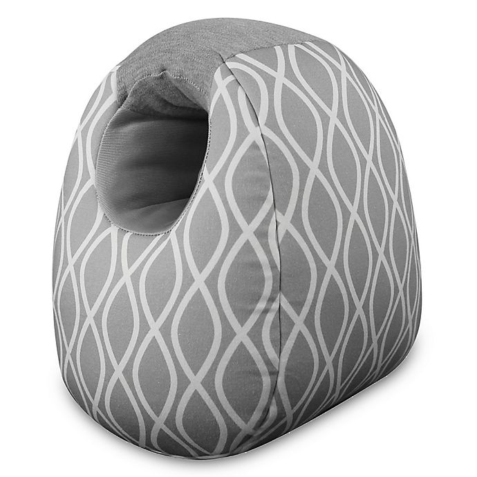 Alternate image 1 for Itzy Ritzy® Milk Boss Infant Feeding Support in Platinum Helix