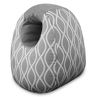 Itzy Ritzy® Milk Boss Infant Feeding Support in Platinum Helix