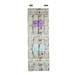 Home Basics® Paris 20-Pocket Over-the-Door Shoe Organizer