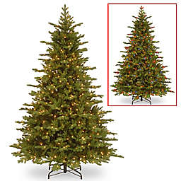 National Tree Company 7-1/2-Foot Pre-Lit PowerConnect Vienna Fir Artificial Christmas Tree