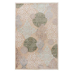 Jaipur Fables Wistful 2' x 3' Accent Rug in Ivory/Blue