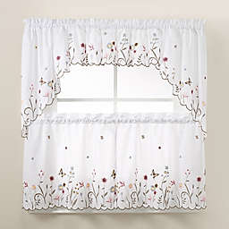 garden delight kitchen window tiers - Kitchen Curtain