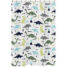 Sweet Jojo Designs® Mod Dinosaur Shower Curtain