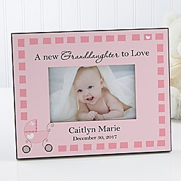 New Grandbaby 4-Inch x 6-Inch Baby Picture Frame