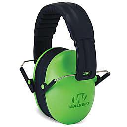 Walker's® Baby & Kid's Folding Earmuffs in Lime Green