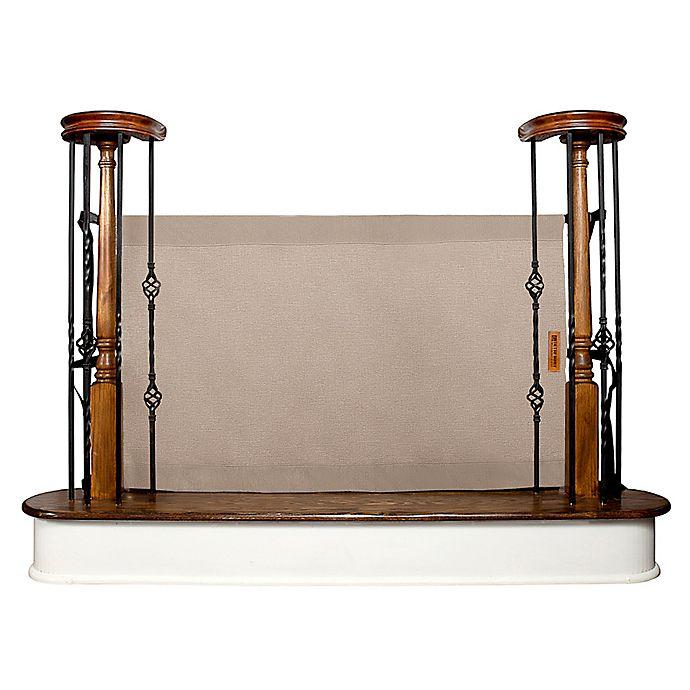 The Stair Barrier Banister To Banister Gate In Khaki