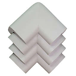 KidKusion® 4-Pack Soft Table Cushion Corners in Taupe
