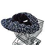 Floppy Seat® Shopping Cart Cover in Black/White