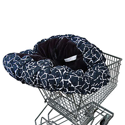 Floppy Seat® Shopping Cart Cover in Black/White