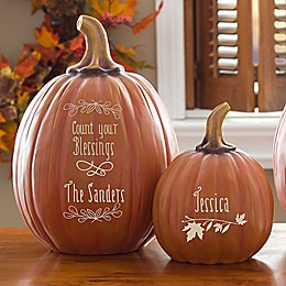 Count Your Blessings Pumpkin Collection