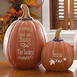 Count Your Blessings Pumpkin