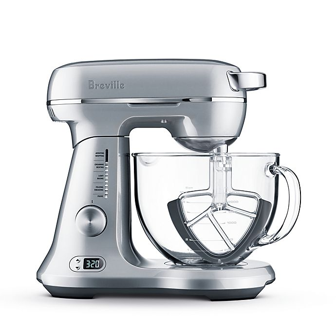 Alternate image 1 for Breville® Bakery Chef™ Stand Mixer in Silver