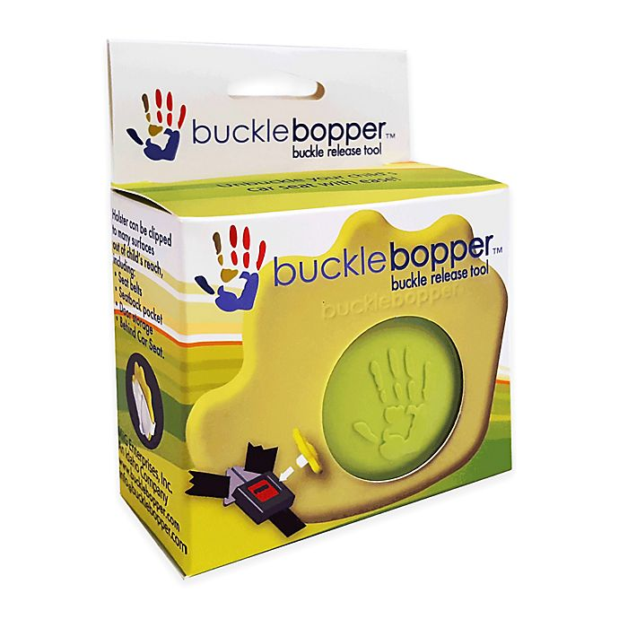 Alternate image 1 for bucklebopper™ Buckle Release Tool in Green
