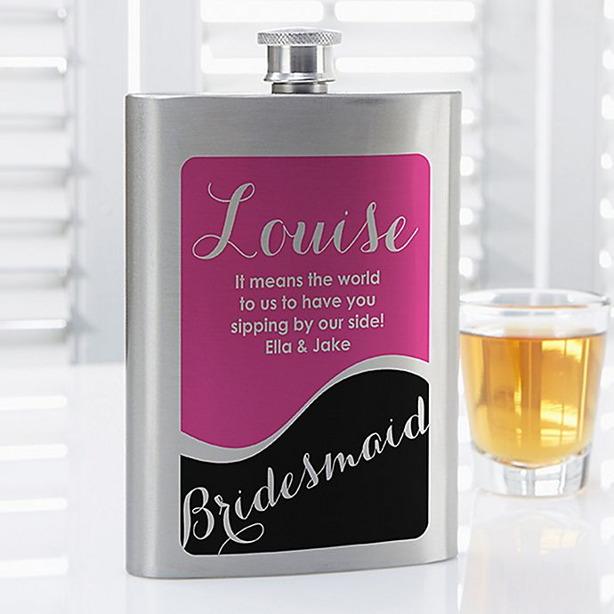 Alternate image 1 for Bridesmaid Flask