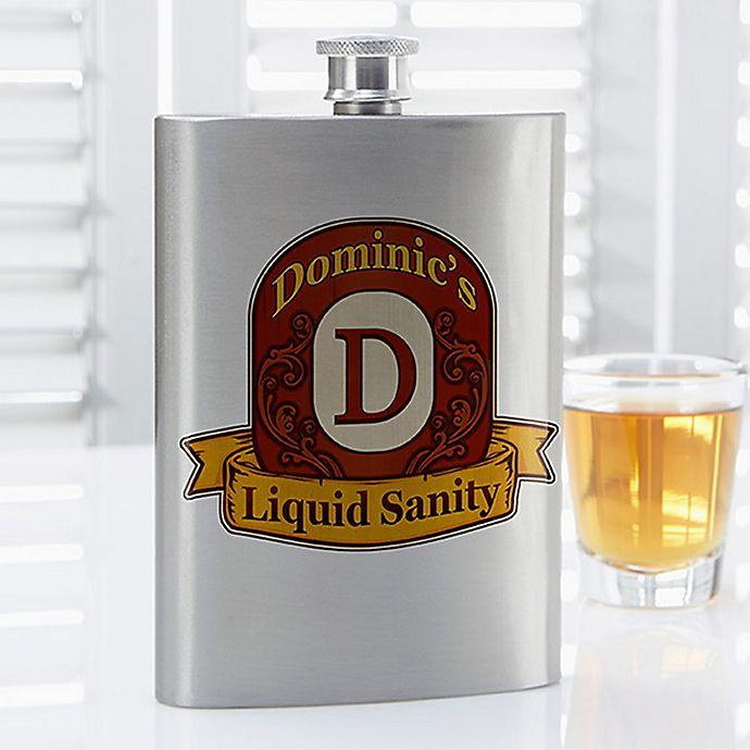 Alternate image 1 for Distinguished Monogram Flask