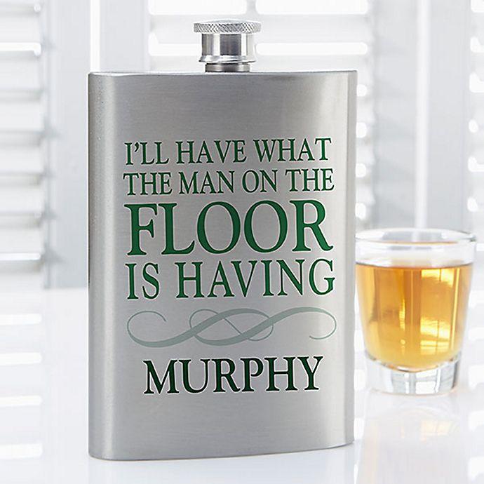 Alternate image 1 for Irish Quotes Flask