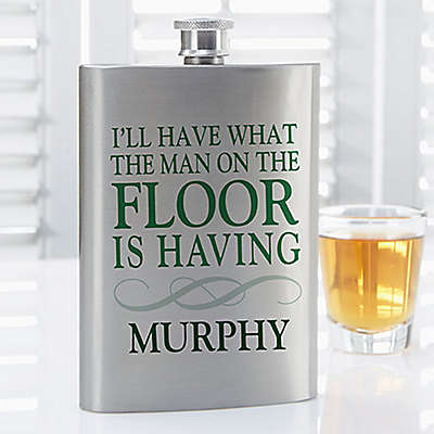Irish Quotes Flask