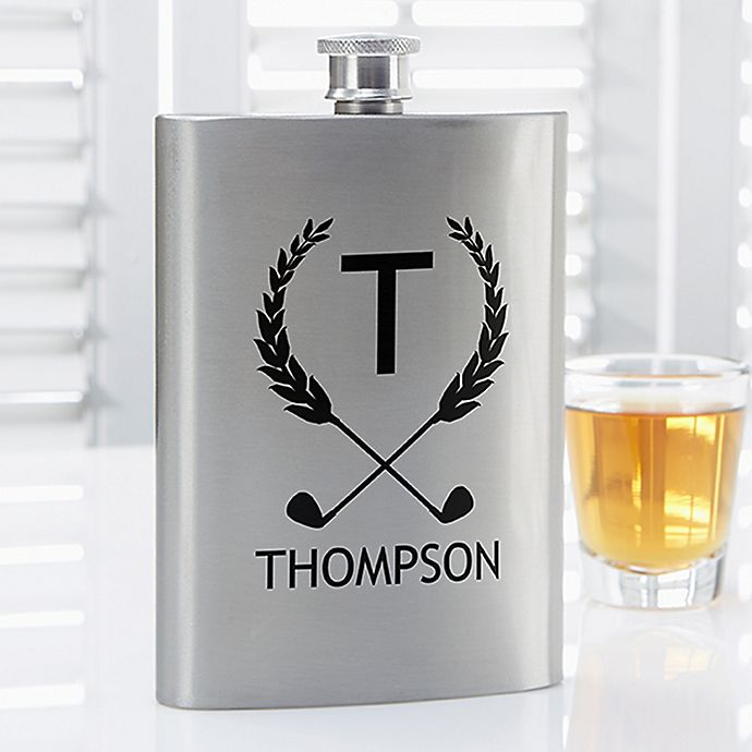 Alternate image 1 for Golf Pro Premium Pocket Flask