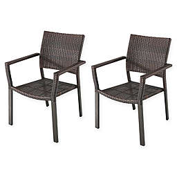 Brown Patio Chairs Amp Benches Bed Bath Amp Beyond