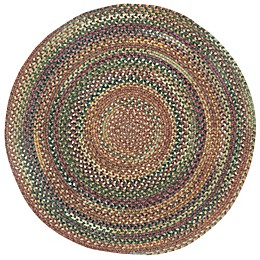 Capel Rugs Kill Devil Hill Braided Round Multicolor Rug