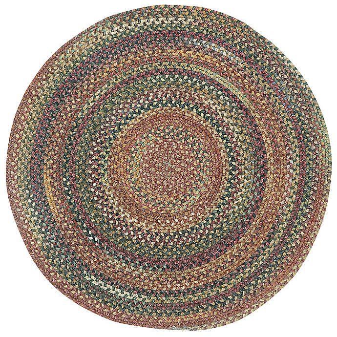 Alternate image 1 for Capel Rugs Kill Devil Hill Braided Round Multicolor Rug