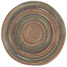 Capel Rugs Kill Devil Hill Braided 7-Foot 6-Inch Round Multicolor Area Rug