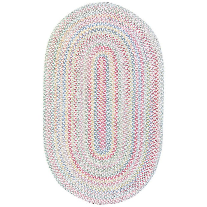 Alternate image 1 for Capel Rugs Baby's Breath Braided Oval Rug