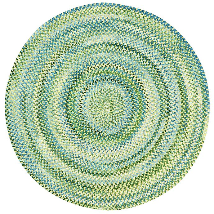 Alternate image 1 for Capel Rugs Waterway Round Braided Rug