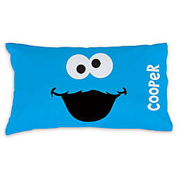 Sesame Street® Cookie Monster Pillowcase in Blue