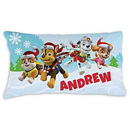 PAW Patrol™ Winter Wonderland Pillowcase in Blue