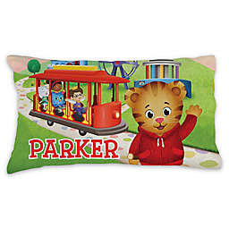 Daniel Tiger Trolley Pillowcase in Green