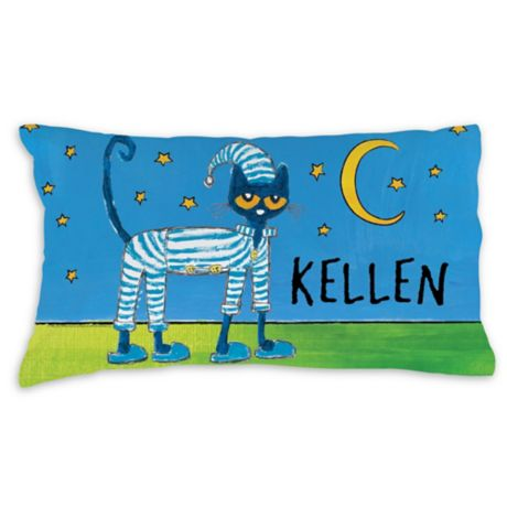 Pete The Cat Pajama Time Pillowcase In Blue Buybuy Baby