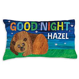 Eric Carle Brown Bear Goodnight Pillowcase in Blue