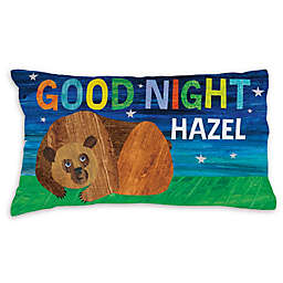 Eric Carle Brown Bear Goodnight Pillowcase in Blue