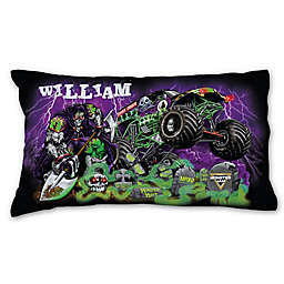 Monster Jam Grave Pillowcase in Black