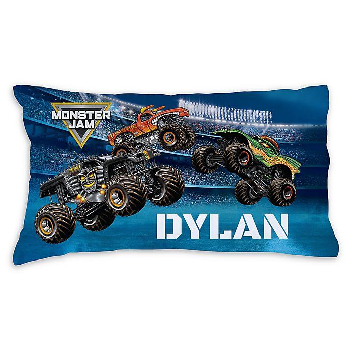 Alternate image 1 for Monster Jam Arena Madness Pillowcase in Blue