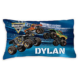 Monster Jam Arena Madness Pillowcase in Blue