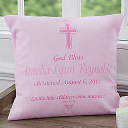 Baptism 18-Inch Throw Pillow