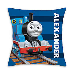 Thomas and Friends™ No. 1 Square Throw Pillow in Blue