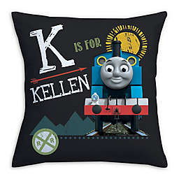 Thomas and Friends Square Throw Pillow in Green