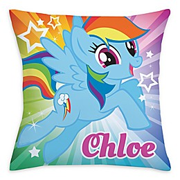 My Little Pony® Rainbow Dash Square Throw Pillow in Blue