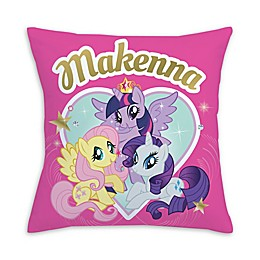 My Little Pony™ Royally Cute Square Throw Pillow in Pink