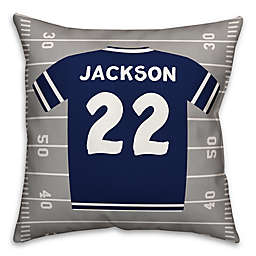 Designs Direct Team Jersey 16-Inch Square Throw Pillow