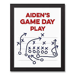 Designs Direct Game Day 11-Inch x 14-Inch Canvas Wall Art