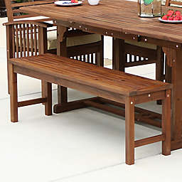 Forest Gate Eagleton Patio Acacia Wood Patio Bench