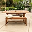 Part of the Forest Gate Eagleton 3-Piece Acacia Outdoor Picnic Set